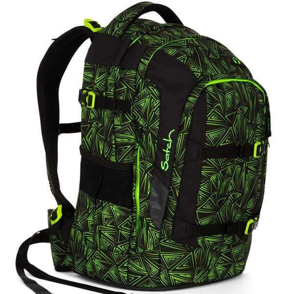 Školní batoh Ergobag Satch Green Bermuda + doprava zdarma 1ca311542c
