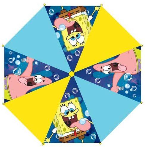 Deštník Sponge Bob vystřelovací