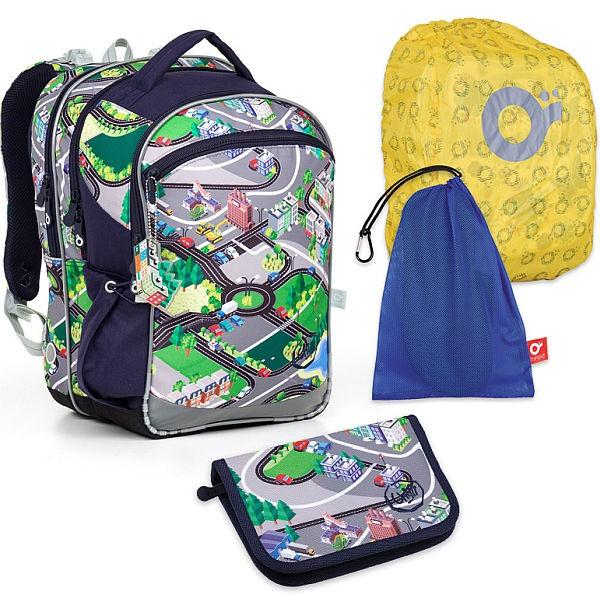 Školní batoh Topgal COCO17001 B SET LARGE