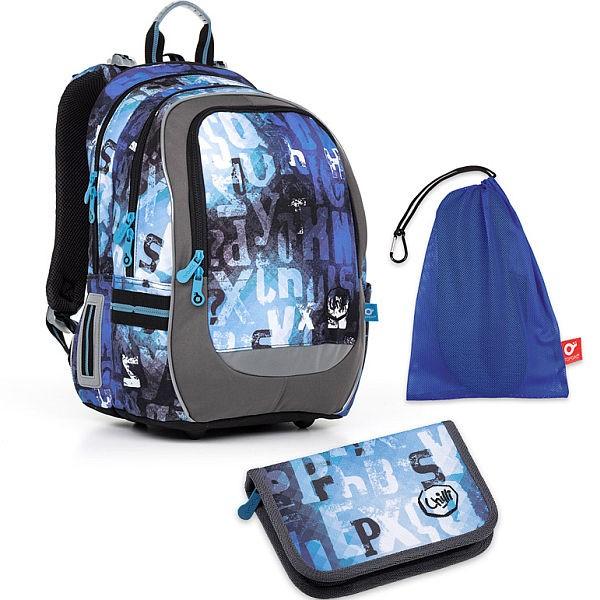 Školní batoh Topgal CODA17006 B SET MEDIUM
