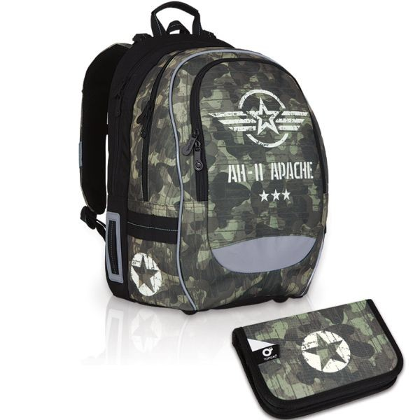 Školní batoh Topgal CHI 752 R SET SMALL a doprava zdarma
