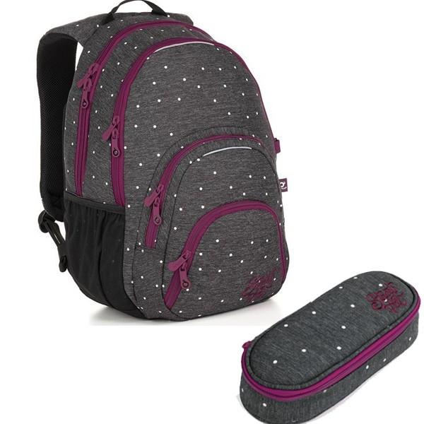 Studentský batoh Topgal SIAN 18033 G SET SMALL a doprava zdarma a97e47e25b