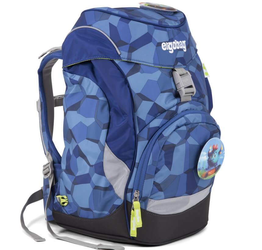 35f71821a9 Školní batoh Ergobag prime Blue Stones 2019 a doprava zdarma