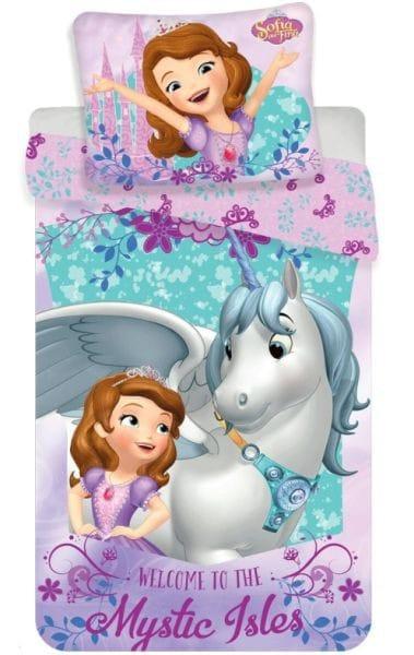 Jerry Fabrics Povlečení Sofia Unicorn 140x200, 70x90 cm