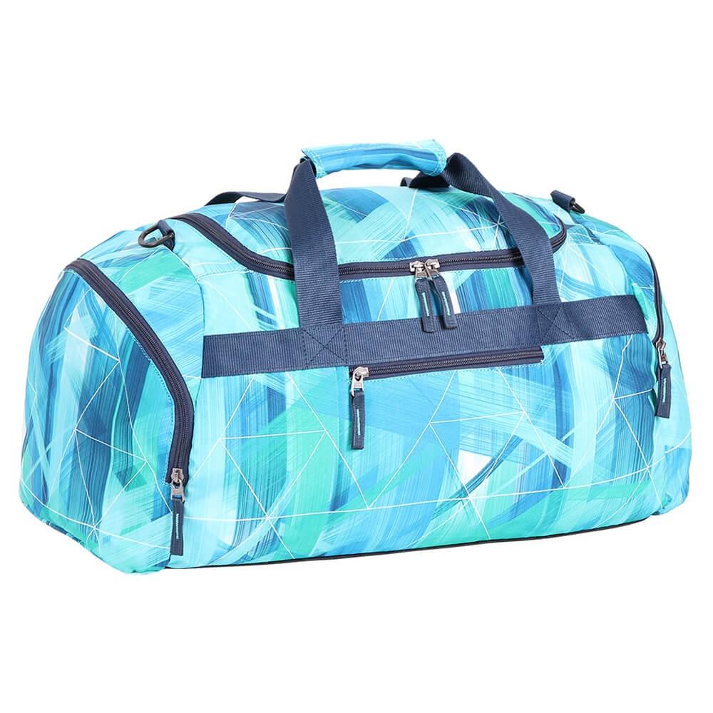 Sportovní cestovní taška Spirit modrá sqaure