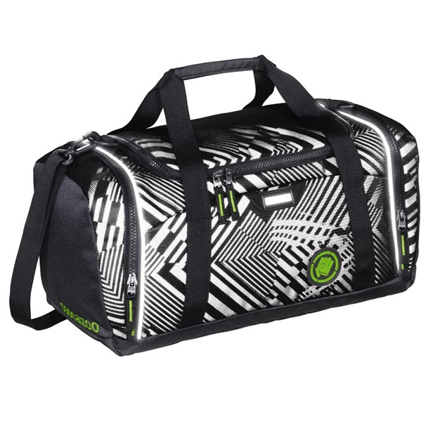 SporterPorter, Black Track reflexní sportovní taška