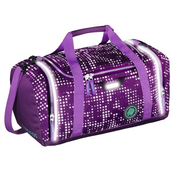 SporterPorter, Purple Galaxy reflexní sportovní taška