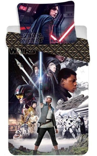 Jerry Fabrics Povlečení Star Wars VIII 140x200 70x90