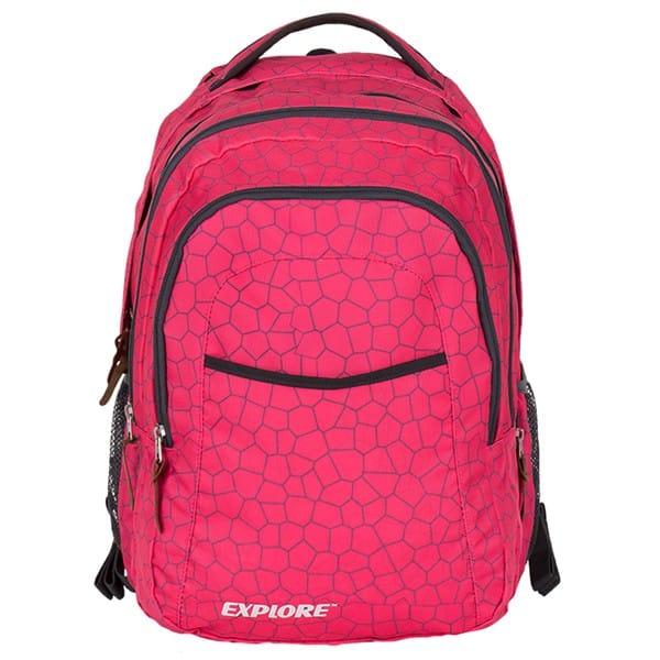 e2adb6da61a Školní batoh EXPLORE ANNA Honey 2 v 1