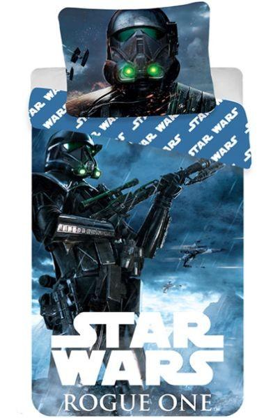 Vesna Povlečení bavlna Star Wars Rogue One 140x200 70x90 bavlněné dětské povlečení