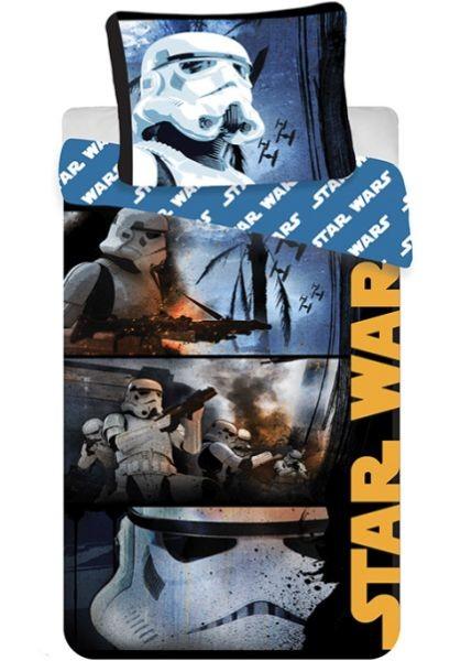 Jerry Fabrics bavlna povlečení Star Wars Stormtroopers 140x200 70x90 Dětské povlečení Star Wars Stormtroopers