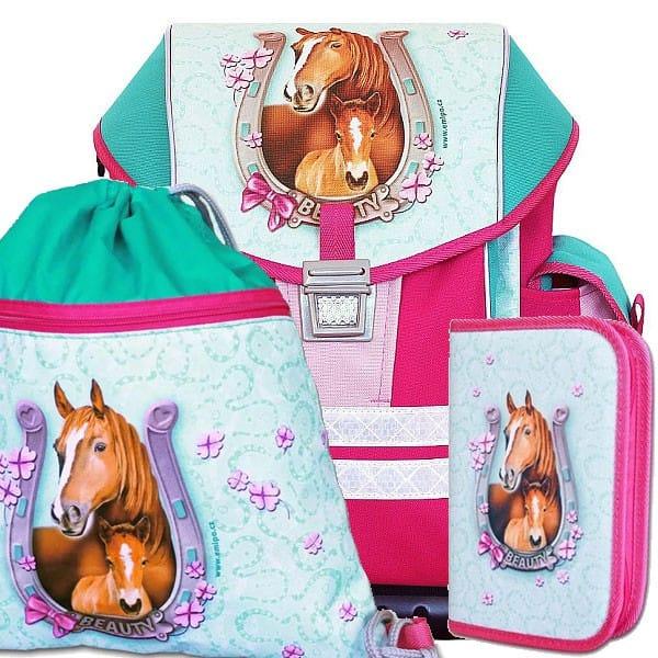 Školní batoh Emipo Ergo One Beauty - SET 8e2565a89d