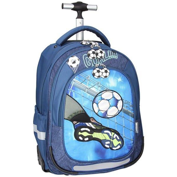 Školní batoh SPIRIT Trolley Fotbal gól na kolečkách  4ebaa5407c