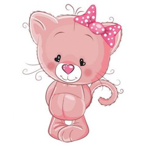 Zdarma růžové kočička fotky