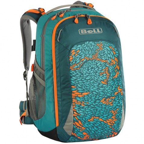 Školní batoh Boll Smart 22 l Artwork Collection Teal - Fish