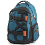 Školní batohy pro 2. stupeň v barvě modrá  da3b43f624