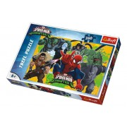 Puzzle Spiderman vs Sinister 6 Disney 260 dílků