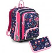 8ba776987b8 Kvalitní školní batohy a aktovky v barvě růžová