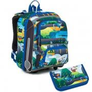 Kvalitní školní batohy a aktovky v motivu dinosauři  160afdf5e2