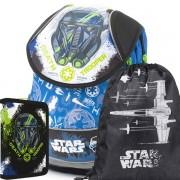 c36ef70d4d Školní anatomický batoh PLUS Star Wars SET