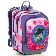 Kvalitní školní batohy a aktovky v motivu kočky  ecd73aed7d