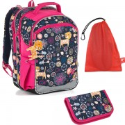Školní batoh Topgal CHI 876 D SET MEDIUM fe6b1d1f7f