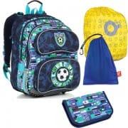 63ec6bae4a Školní batoh Topgal CHI 884 D SET LARGE