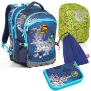 Školní batoh Topgal COCO 18015 B SET LARGE 9f17a97871