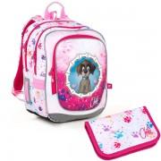 Kvalitní školní batohy a aktovky v motivu psi  fd5e9a849d