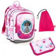 Kvalitní školní batohy a aktovky v motivu psi  f660b0f273