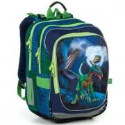 Kvalitní školní batohy a aktovky v barvě zelená  aff04b099e