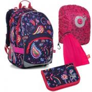 Kvalitní školní batohy a aktovky v barvě fialová  8ff8710565