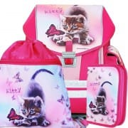 6c1d8ae2ea Školní batoh Emipo Ergo One Kitty 3dílný set