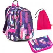 Školní batoh Topgal LYNN 18009 G SET MEDIUM 613f70f53e