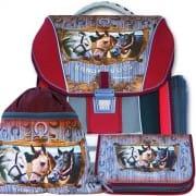 Školní batoh Emipo Koně Randezvous 3 dílný set 1cf213426b