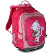 c4f2eaaf7ac Dětské školní batohy pro první stupeň v barvě růžová