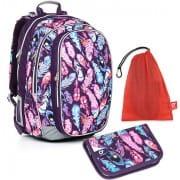 Školní batoh Topgal CHI 796 H SET MEDIUM a dopravné ZDARMA 8520d6f7de