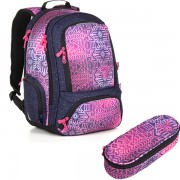 de77f0fb0a3 Studentský batoh Topgal SURI 18029 G SET SMALL