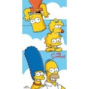 Osuška Simpsons family Clouds