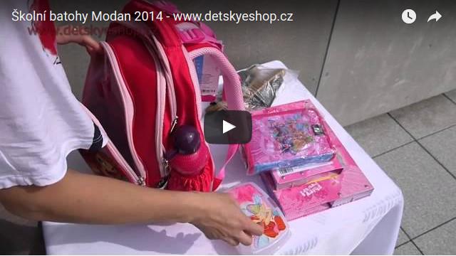1a10ae594cb Školní batohy MODAN Ukázkové video batohů od firmy Modan